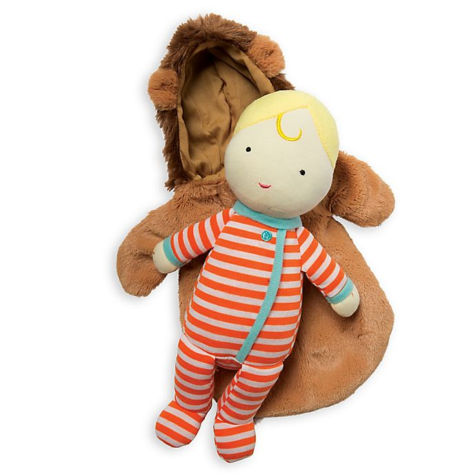 Alternate image 1 for Manhattan Toy Snuggle Baby Lion in Multicolor