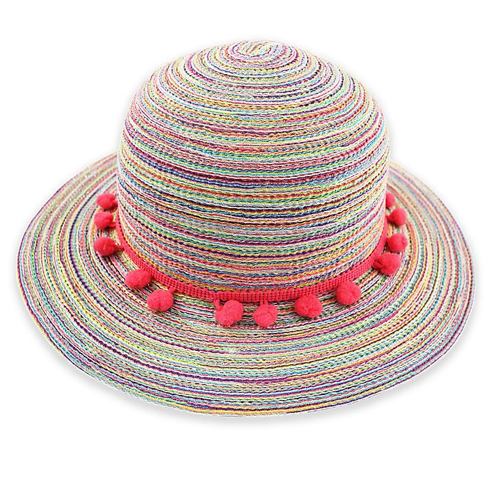 0b8e1857b5623 Rising Star® Spacedye Floppy Hat with Pom Poms
