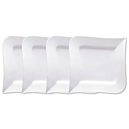 Fortessa® Fortaluxe Super White OJO Dinner Plates (Set of 4)
