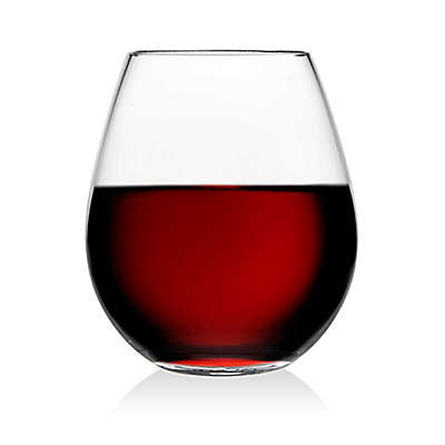 Olivia & Oliver Madison Stemless Wine Glasses (Set of 4)