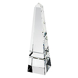 Badash 10-Inch Optical Crystal Obelisk Sculpture