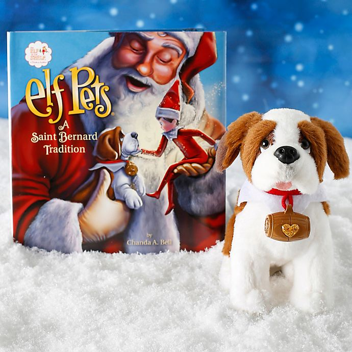 Alternate image 1 for The Elf on the Shelf® Elf Pets®: A Saint Bernard Tradition Book