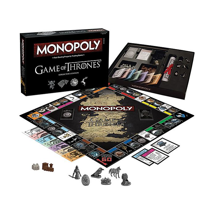 Alternate image 1 for Monopoly® The Game of Thrones Edition Board Game