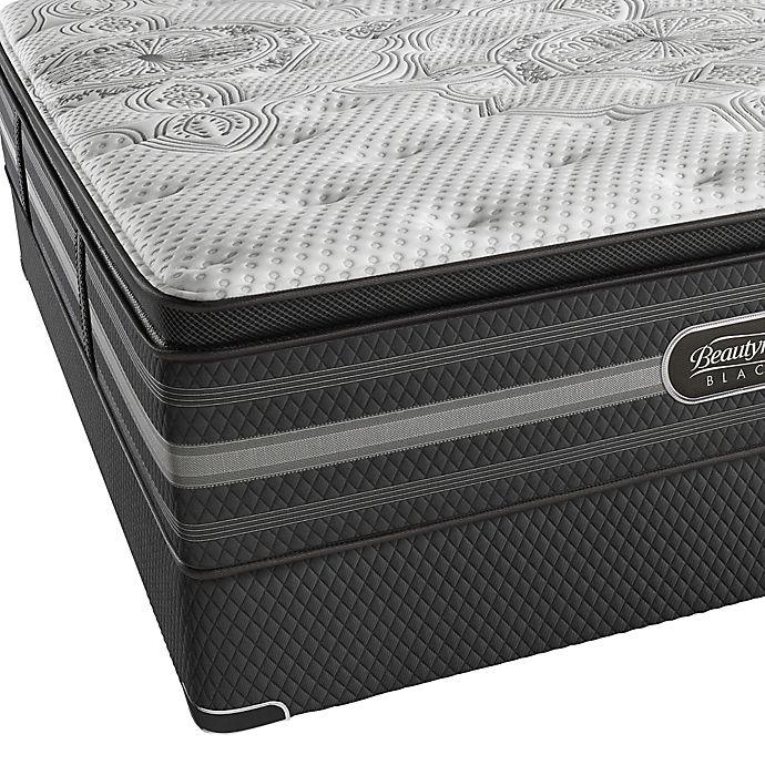 Alternate image 1 for Beautyrest Black® Katarina Luxury Firm Pillow Top Low Profile Queen Mattress Set
