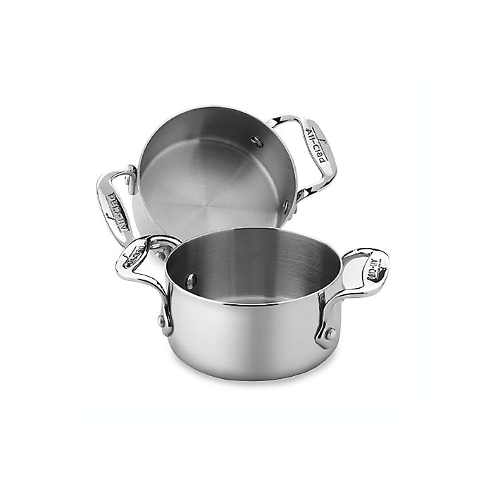 Alternate image 1 for All-Clad Stainless Steel Soup and Souffle Ramekins (Set of 2)
