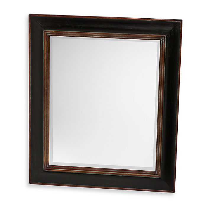 Vivian Wall Mirror By Uttermost: Uttermost Black Fabiano Wall Mirror