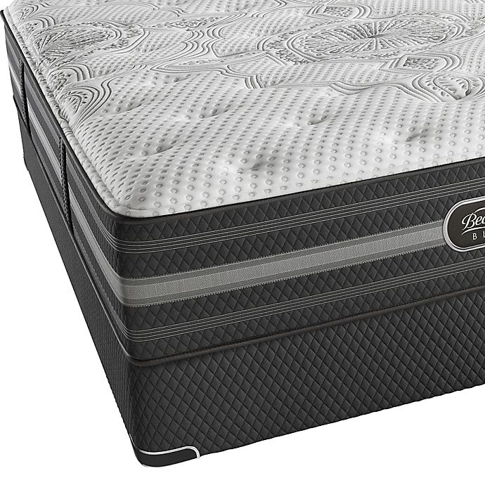 Alternate image 1 for Beautyrest Black® Desiree Plush Low Profile King Mattress Set