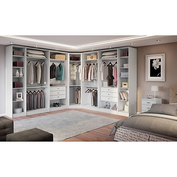 Manhattan Comfort Chelsea Bedroom Storage Furniture