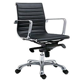 Moe`s Home Collection Swivel Office Chair in Black