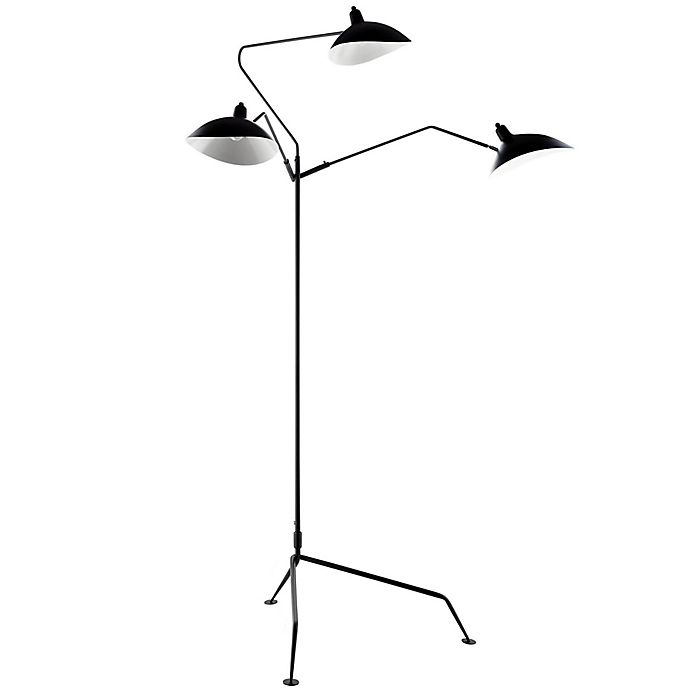 Alternate image 1 for Modway View Floor Lamp in Black