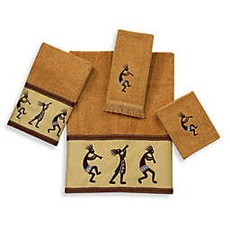 Avanti Kokopelli Bath Towel Collection in Nutmeg