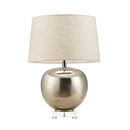 Madison Park Signature® Rondure Mirrored Table Lamp in Pewter