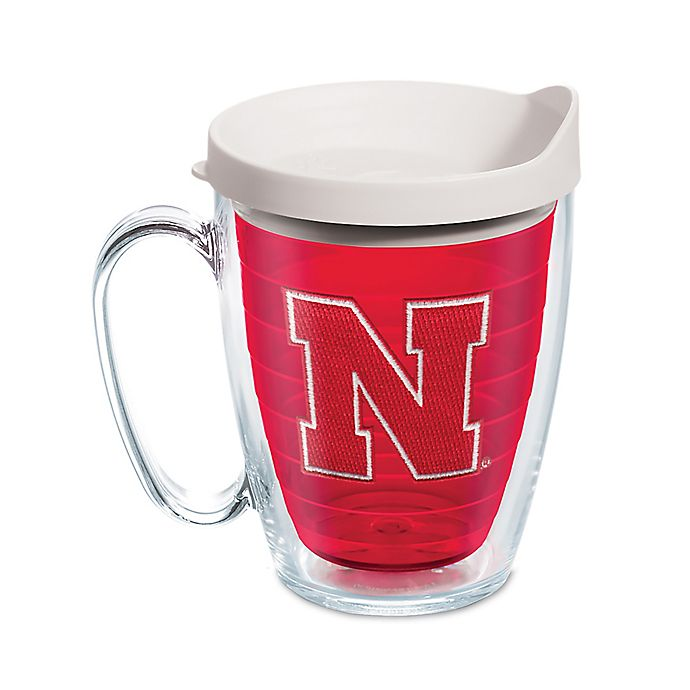 Alternate image 1 for Tervis® University of Nebraska 16 oz. Mug with Lid in Red