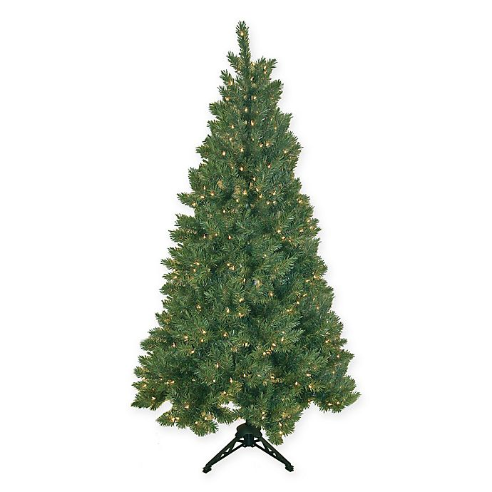 Half Of Christmas Lights Dont Work.Pre Lit Half Evergreen 6 5 Foot Christmas Tree With Clear