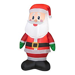 Gemmy® Santa Inflatable Outdoor Decoration
