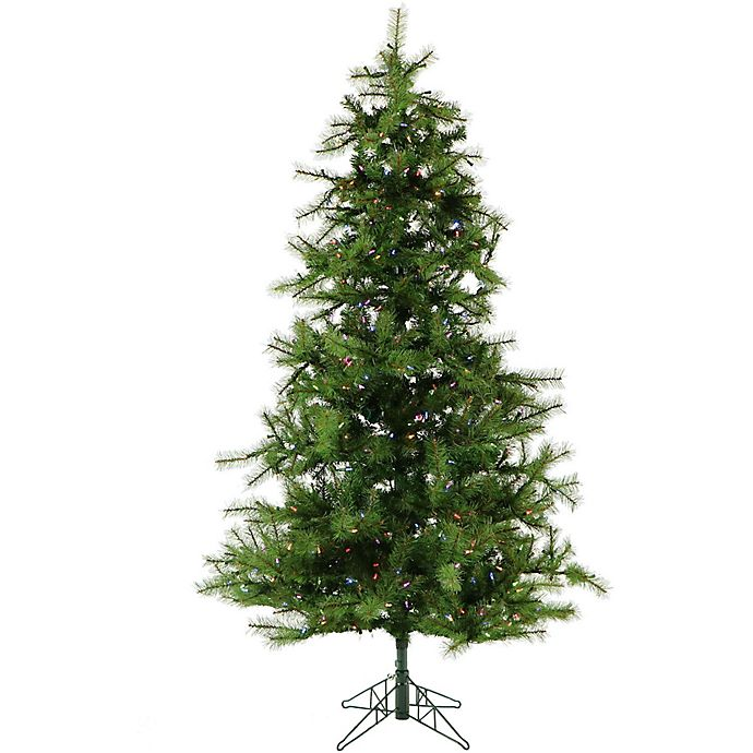 7 5 Foot Artificial Christmas Tree Multi Colored Lights: Frasier Hill Farm 7.5-Foot Noble Fir Pre-Lit Artificial