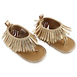 Rising Star™ Girls Fringe Sandal in Gold