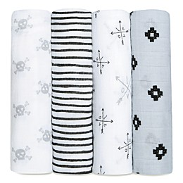 aden + anais® 4-Pack Lovestruck Muslin Swaddle Blanket Set