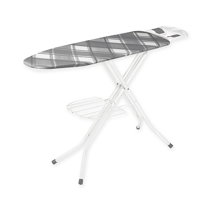 Alternate image 1 for Polder® 48-Inch x 15-Inch Deluxe Ironing Station with Iron Rest