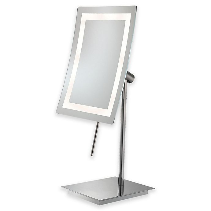 Kimball Young 3x Led Makeup Mirror In Chrome Bed Bath Beyond