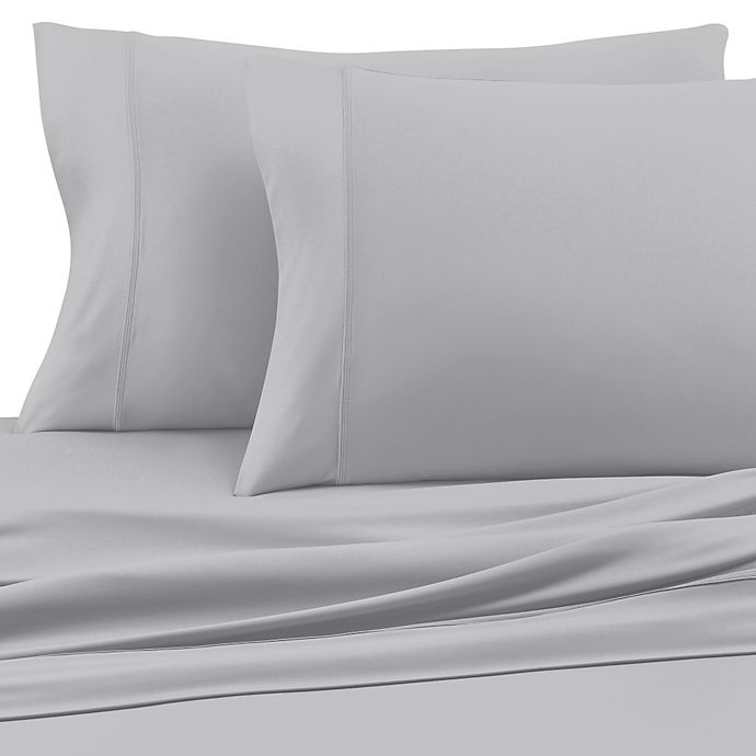 Alternate image 1 for SHEEX® Experience Performance Fabric Twin Sheet Set in Silver