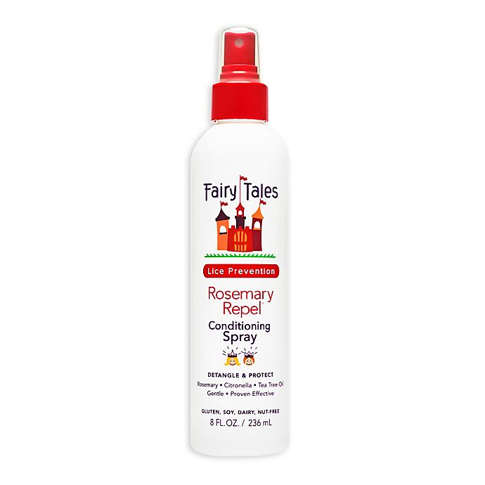 Alternate image 1 for Fairy Tales 8 oz. Rosemary Lice Repel Leave-In Conditioner Spray