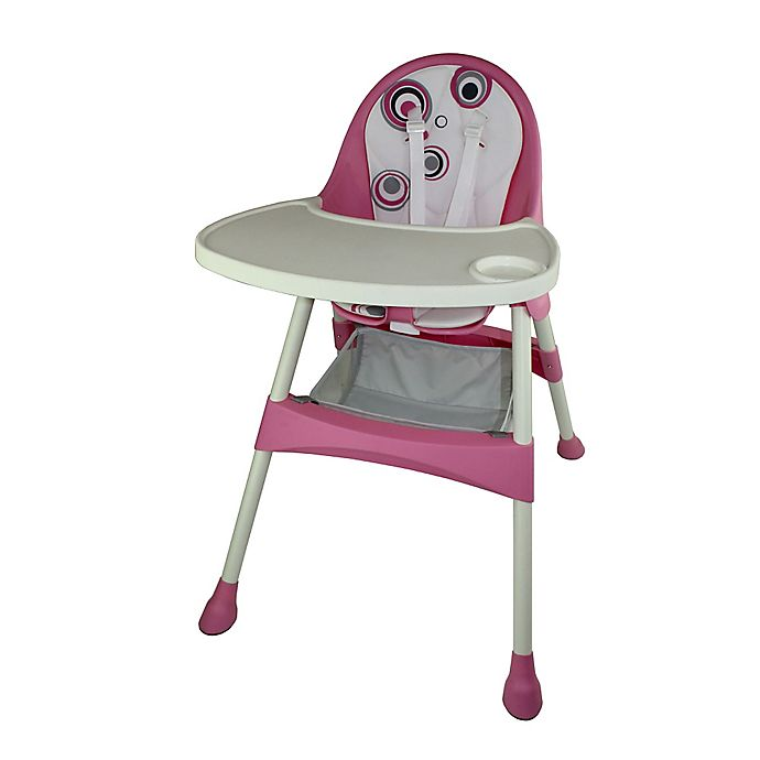 Alternate image 1 for Baby Diego High Chair in Pink