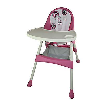 Baby Diego High Chair in Pink