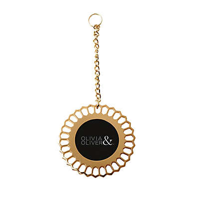 Olivia & Oliver Bouquet Charm in Polished Gold