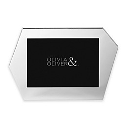 Olivia & Oliver® Riley 5-Inch x 7-Inch Picture Frame in Silver