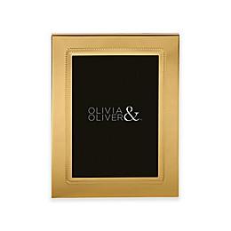 Olivia & Oliver® Parker 5-Inch x 7-Inch Polished Gold Picture Frame