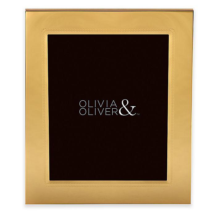 Alternate image 1 for Olivia & Oliver® Parker 8-Inch x 10-Inch Polished Gold Picture Frame