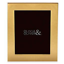 Olivia & Oliver® Parker 8-Inch x 10-Inch Polished Gold Picture Frame