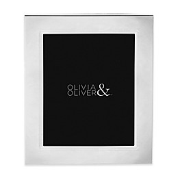 Olivia & Oliver® Parker 8-Inch x 10-Inch Silver Plated Picture Frame