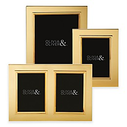 Olivia & Oliver Madison Polished Gold Picture Frame