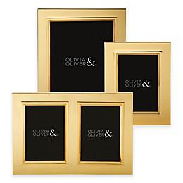 Olivia & Oliver Madison Polished Gold Picture Frame