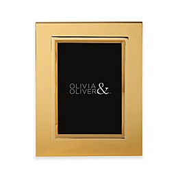 Olivia & Oliver® Madison 5-Inch x 7-Inch Polished Gold Picture Frame