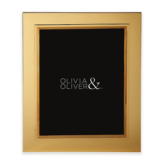 Alternate image 1 for Olivia & Oliver® Madison 8-Inch x 10-Inch Polished Gold Picture Frame