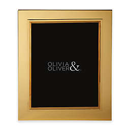 Olivia & Oliver® Madison 8-Inch x 10-Inch Polished Gold Picture Frame