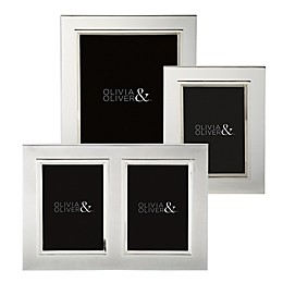 Olivia & Oliver® Madison Silver Plated Picture Frame