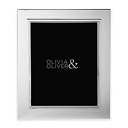 Olivia & Oliver® Madison 8-Inch x 10-Inch Silver Plated Picture Frame