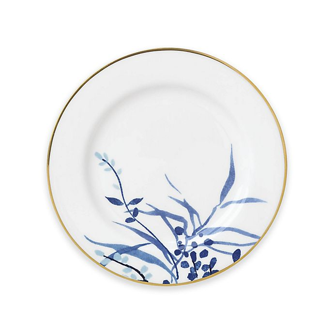 Alternate image 1 for kate spade new york Birch Way™ Bread and Butter Plate in Indigo