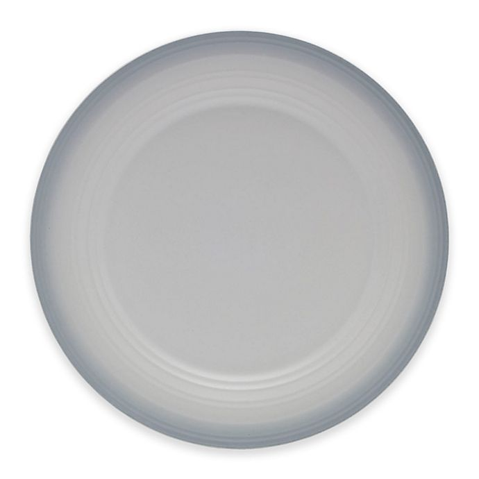 Alternate image 1 for Mikasa® Swirl Ombre Dinner Plate in Grey