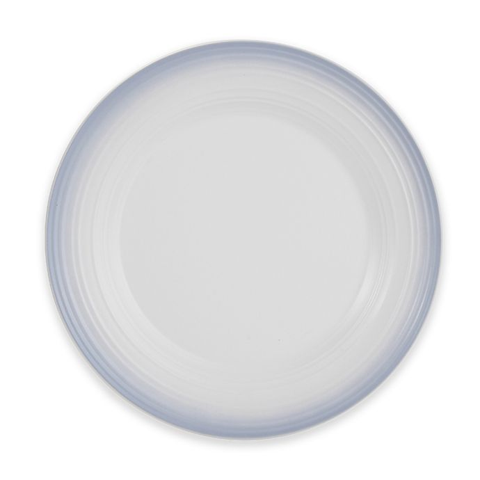 Alternate image 1 for Mikasa® Swirl Ombre Round Platter in Grey