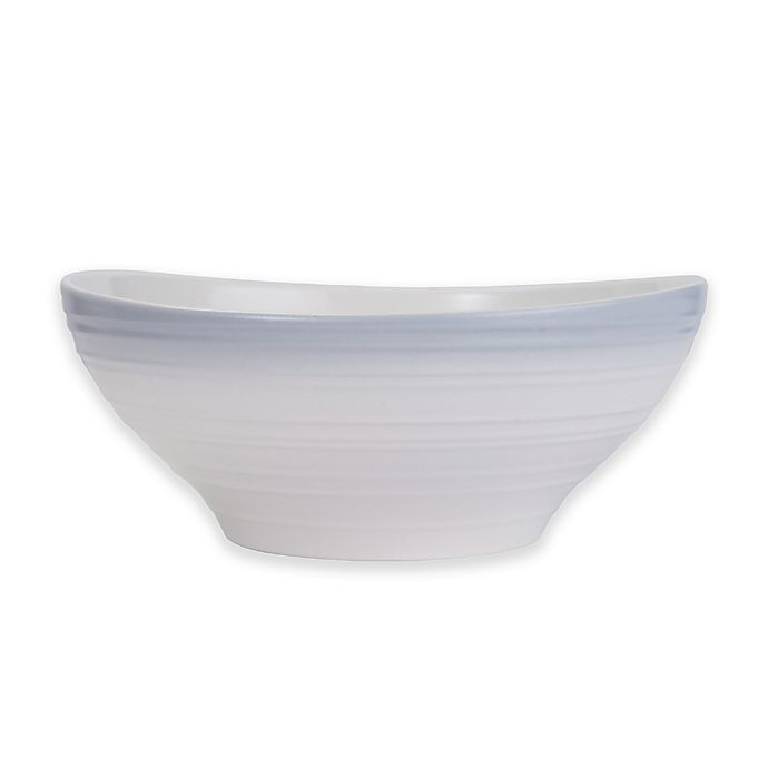 Alternate image 1 for Mikasa® Swirl Ombre Vegetable Bowl in Grey