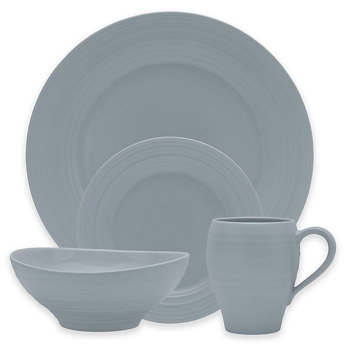 Alternate image 1 for Mikasa® Swirl Dinnerware Collection in Grey