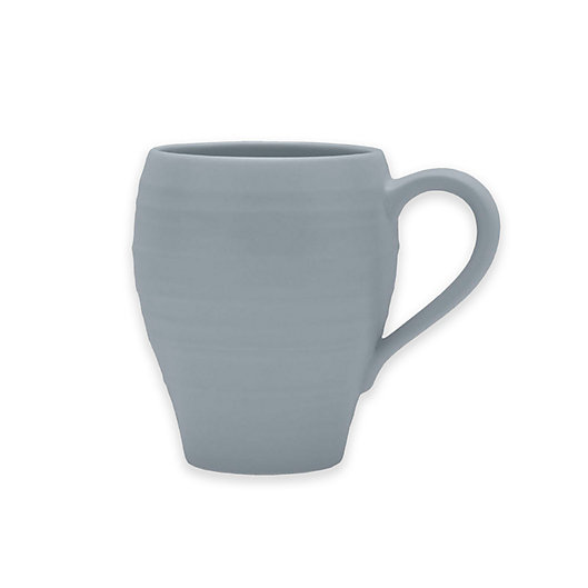 Alternate image 1 for Mikasa® Swirl Mug in Grey