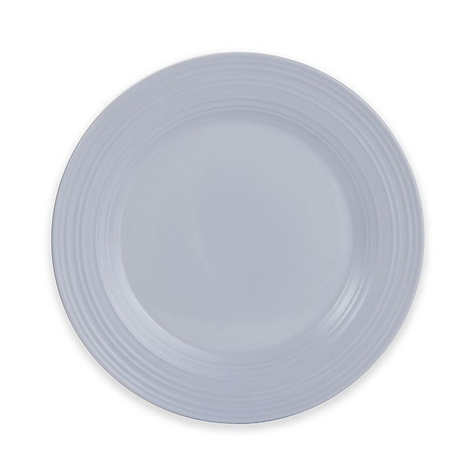 Alternate image 1 for Mikasa® Swirl 12.5-Inch Round Platter in Grey
