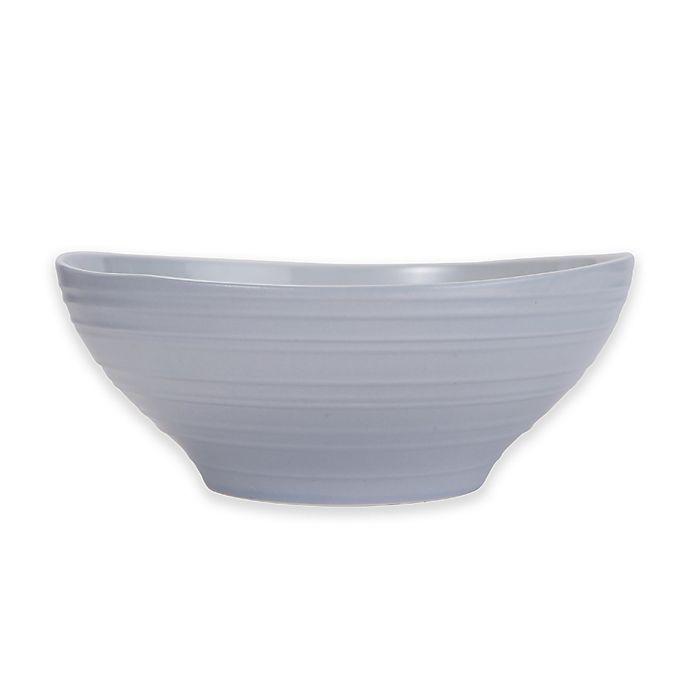 Alternate image 1 for Mikasa® Swirl Vegetable Bowl in Grey