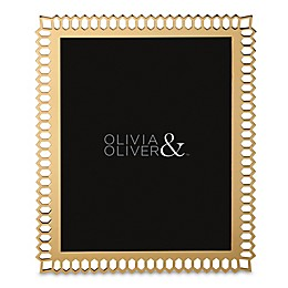 Olivia & Oliver® Aubrey 8-Inch x 10-Inch Picture Frame in Gold